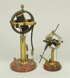 TWO SIMILAR ELECTRO MAGNETIC APPARATUS'; height of...