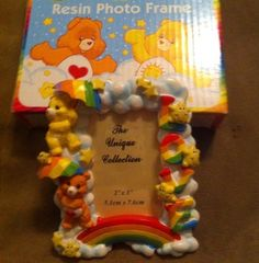 Care bears picture frame
