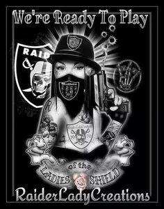 Ladys of the shield Okland Raiders, Raiders Girl, Raiders Nails, Oakland Raiders Images, Oakland Raiders Football, Chicano, Minions, Raiders Cheerleaders, Raiders Wallpaper