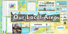 PlanIt - Geography Year 1 - Our Local Area Unit Additional Resources Katie Morag, Area Units, Teaching Geography, National Curriculum, School Community, History Projects, Local History, Teaching Resources, Literacy