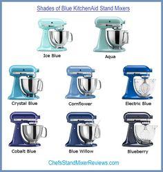 Blue KitchenAid Mixers Reviews   Chefs Stand Mixer Reviews