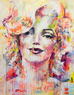 "Saatchi Online Artist Marta Zawadzka; Painting, ""Merylin"" #art"