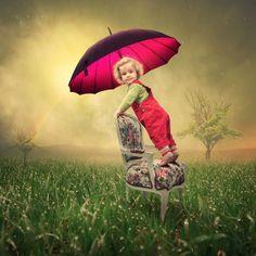 I love watching the rain II by Caras Ionut   Photo manipulation