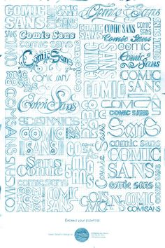 comic sans: exceed your potential by DraftFCB