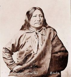 Spotted Tail was a chief of the Brule Sioux and a cousin to Conquering Bear. He was an uncle to Crazy Horse. Sioux Nation, Sioux Tribe, Native American Indians, Native Americans, First Nations, Nativity, Horses, History, Crazy Horse