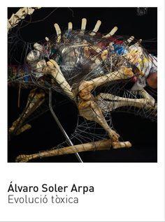 Álvaro Soler Arpa. Artista. Evolució tòxica. Sala Laboratori.