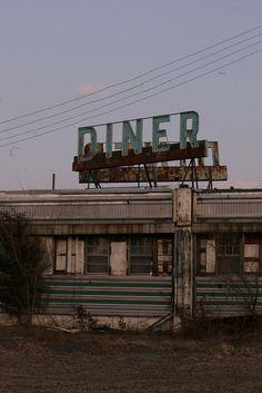 Abandoned Diner   Flickr - Photo Sharing!