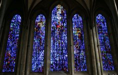 Salisbury Cathedral stained glass window. via The Most Stunning Stained Glass Windows In The World (PHOTOS). Huffington Post