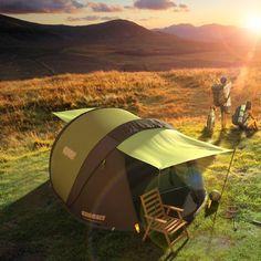 Cinch Pop-Up Solar Tent #Camping, #Solar, #Tent