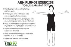 arm plunge exercise