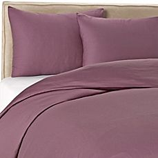 image of Wamsutta® 400-Thread-Count Solid Duvet Cover Set  Best Great price