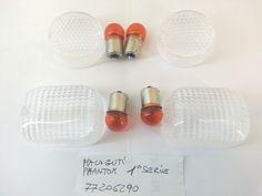 CON 4 LAMPADINE KIT 4 GEMME FRECCE TRASPARENTI PIAGGIO NRG MC2