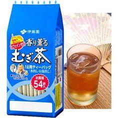 MUGICHA — Japanese Roasted Barley Tea (Mugi Cha) — 54pcs $3.80 http://thingsfromjapan.net/mugicha-japanese-roasted-barley-tea-mugi-cha-54pcs/ #mugicha #Japanese barley tea #Japanese tea