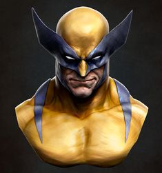A second try on my favorite character with a speed sculpt. It took about 5 hours to complete and I am very satisfied with the time it took and the end result. Made entirely in zbrush with an edition of the final render… Marvel Comics Art, Marvel Comic Universe, Marvel Heroes, Wolverine Art, Logan Wolverine, Comic Books Art, Comic Art, Book Art, Ben Oliver