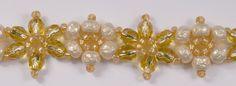 Deb Roberti's Crystal Flower Bracelet
