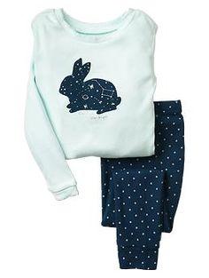 Bunny galaxy sleep set - $26.95 - Available at the Gap/BabyGap
