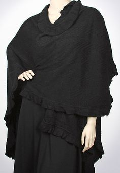 40 Best capes shawls ruanas and wraps images in 2019 | Shawl