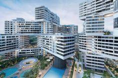 """Architektur-Preis: Visionär modernen Wohnens, Singapore """"The Interlace"""" von Ole Scheeren"""