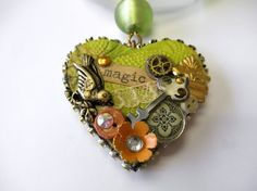 Art charm made by Mary Ann Flesch from a Facebook bling muse offered at the B'sue Boutiques Creative Group.....why don't you join us?