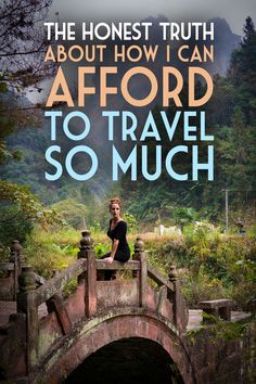 The honest truth about how I can afford to #travel so much