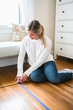 How to properly measure a room for a rug.
