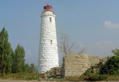 Christian Island Lighthouse as I remember it in 2007. I grew up summer cottaging in Georgian Bay Ontario