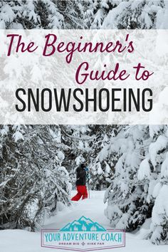 Check out these 22 beginner snowshoeing tips - learn what essential snowshoeing equipment you need, how to choose the best snowshoes, what to wear and how to put on snowshoes. Easy Hobbies, Hobbies To Try, Hobbies For Men, Hobbies That Make Money, Winter Hiking, Winter Camping, Camping And Hiking, Winter Fun, Winter Sports