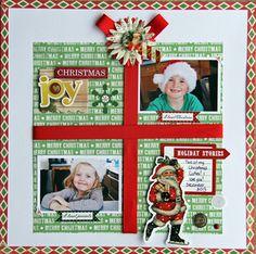 My Creative Scrapbook December Main kit designed by Jodi Wilton.