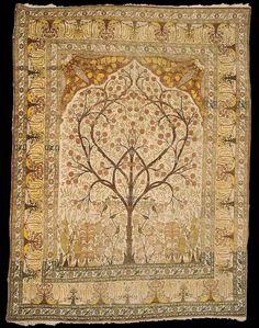 A Tabriz prayer carpet, North West Persia, late 19th century