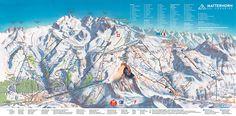 Zermatt, Switzerland skiing