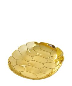 Turtle Shell Brass Tray.