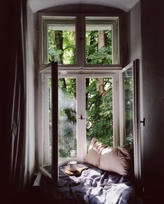 through the window Interior And Exterior, Interior Design, Interior Paint, Window View, Photo Window, Open Window, Through The Window, Design Case, Design Design