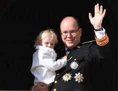 Prince Albert II, Princess Charlene, Prince Jacques and Princess Gabriella