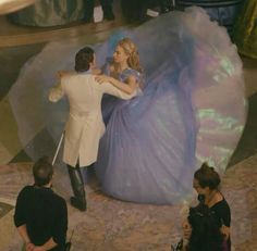 Richard Madden (Kit) & Lily James (Cinderella)