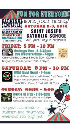 Saint Joseph Catholic School Carnival