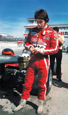 """amjayes: """" """"Gilles was too brave for my world, for the parameters I had set. There was no one in our era as competitive as Gilles. Remember the Arnoux battle at Dijon in '79? It couldn't have been..."""