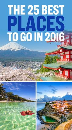 From Lonely Planet's Best in Travel 2016 and AFAR's Where to Go in 2016.