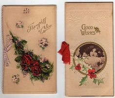 Vintage Christmas Cards ~ Victoriana