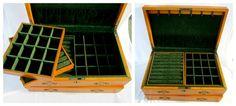 Extra Large Wood Jewelry Box Mens Unisex Jewelry Chest Thomas Pacconi Classics