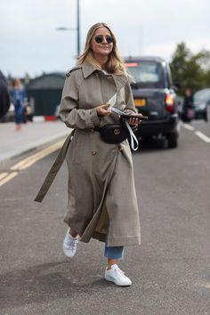 Street Style London: Die schönsten Looks der London Fashion Week … - Uber Mode Street Style Trends, Look Street Style, Spring Street Style, Street Styles, London Fashion Weeks, Milan Fashion, Cool Street Fashion, Look Fashion, Spring Fashion