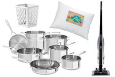 Stainless Steel Cookware, Bargain Vacuums, and the Rest of Today's Best Amazon Deals | Mental Floss