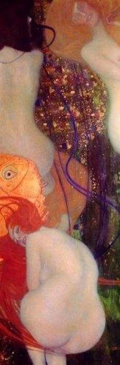 Goldfish by Gustav Klimt 1901-2