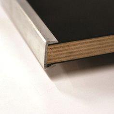"Maywood Furniture Original Series Round Folding Table Frame Finish: Silver, Size: 60""  Diameter, Top / Edge: Laminate Black / Vinyl Flush Edge (VFE)"