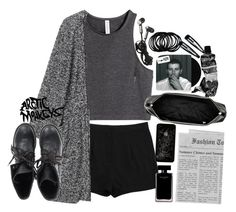 """""""09.05.2014"""" by kubra-62 ❤ liked on Polyvore featuring Acne Studios, H&M, Monki, Ash, Aesop, Clips and Narciso Rodriguez"""