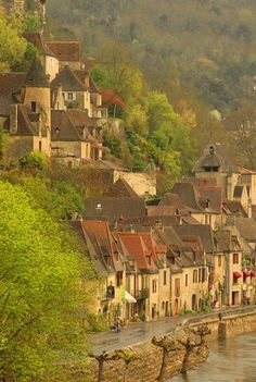 La Roque Gageac, Dordogne,France