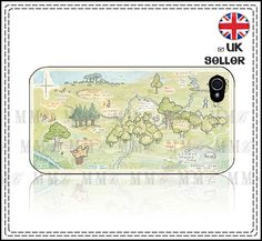Winnie The Pooh Map - really, really want this for my iPhone!