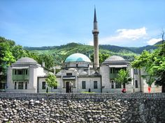 Bosnia and Herzegovina steamtrain | Emperor Mosque in Sarajevo - Bosnia-Herzegovina