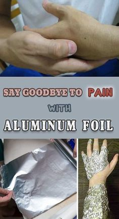 Aluminum foil is a very useful object that generally helps you prepare some delicious dishes or store the food in the fridge. However, there is another use of this foil and it will surprise you: to cure diseases. Of course that it doesn't heal any disease, but conditions dominated by pain (feet, neck, shoulders, back …