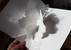 Pop-up card (flower)
