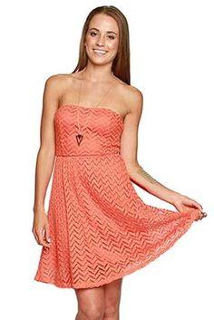 Single Thread Coral Ya Dress - #shopsinglethread